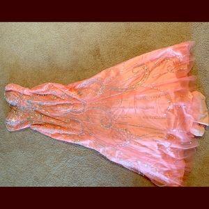 Tony Bowls prom/pageant dress.